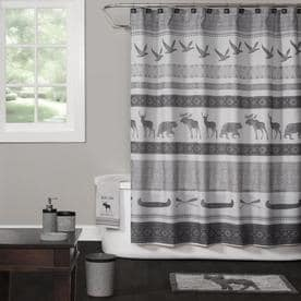 Saturday Knight Limited Wilderness Calling Polyester Multiple colors/finishes Patterned Shower curtain