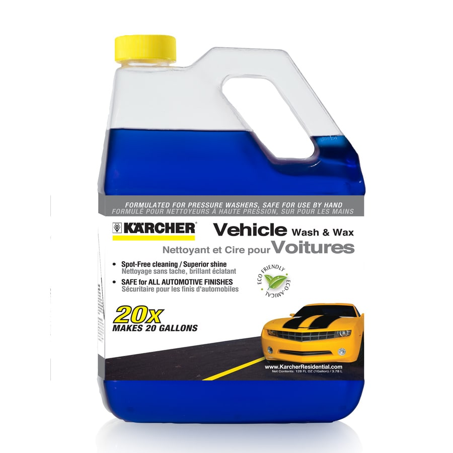 Karcher 1-Gallon 20x Concentrate Vehicle Wash & Wax