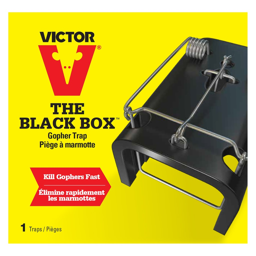 Victor The Black Box Gopher Trap