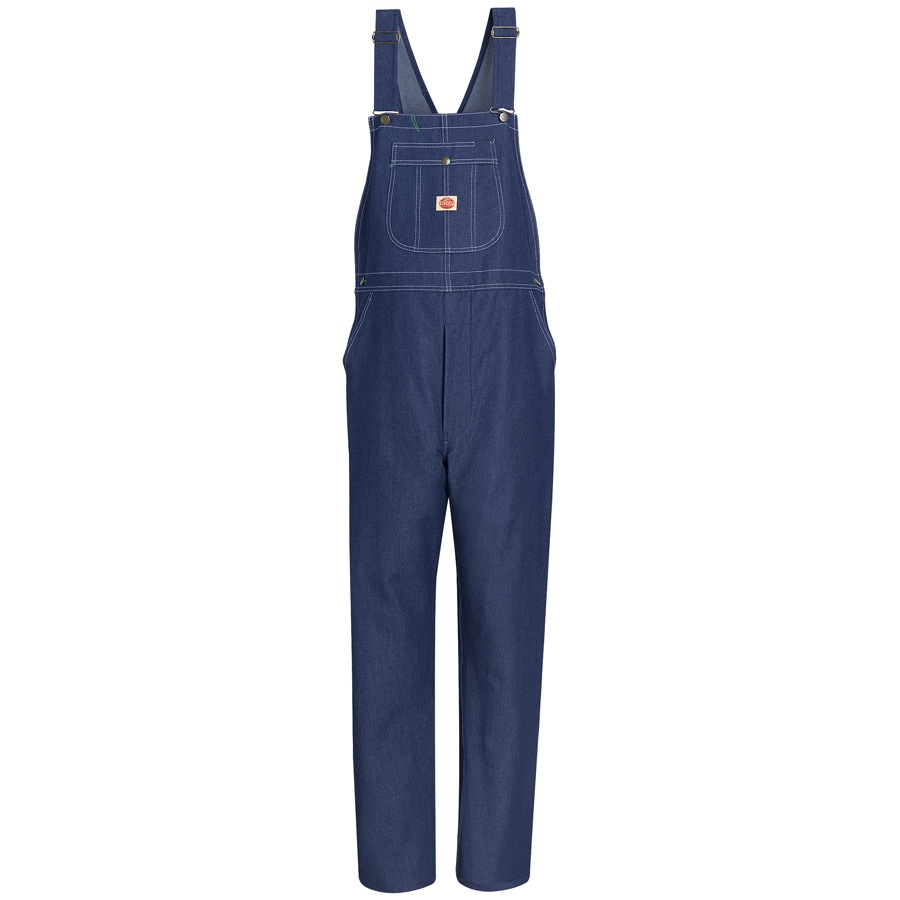 Red Kap Blue Denim Unisex 32 x 34 Overalls