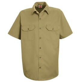Red Kap ST62 Mens Utility Uniform Shirt