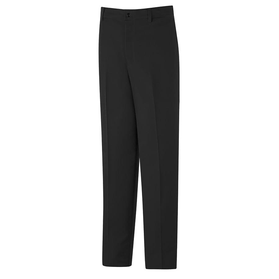 Red Kap Men's 32 x 30 Black Twill Work Pants
