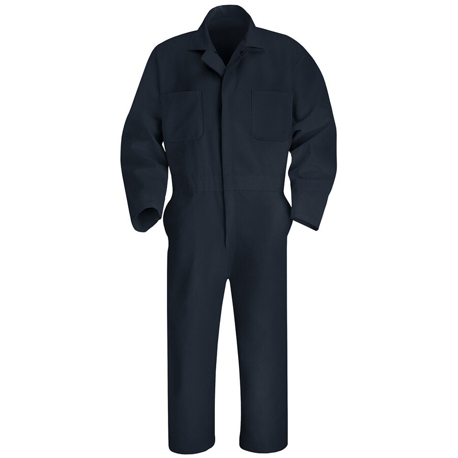 Red Kap 50 Men's Navy Long Sleeve Coveralls