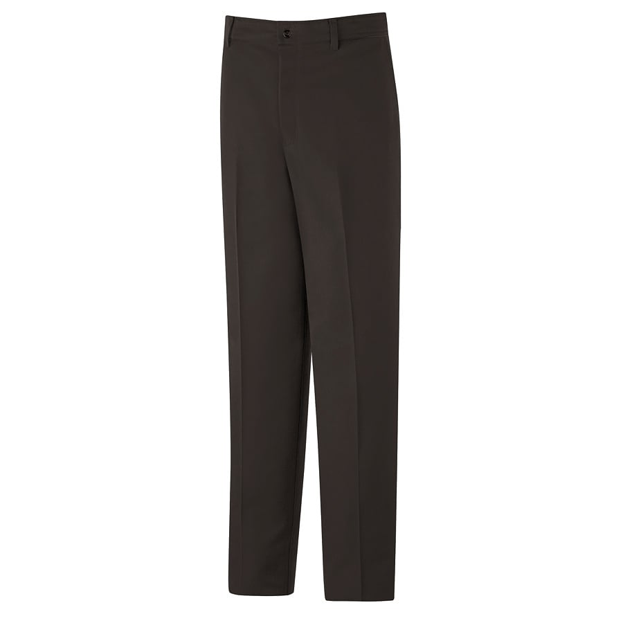 Red Kap Men's 46x30 Brown Twill Work Pants