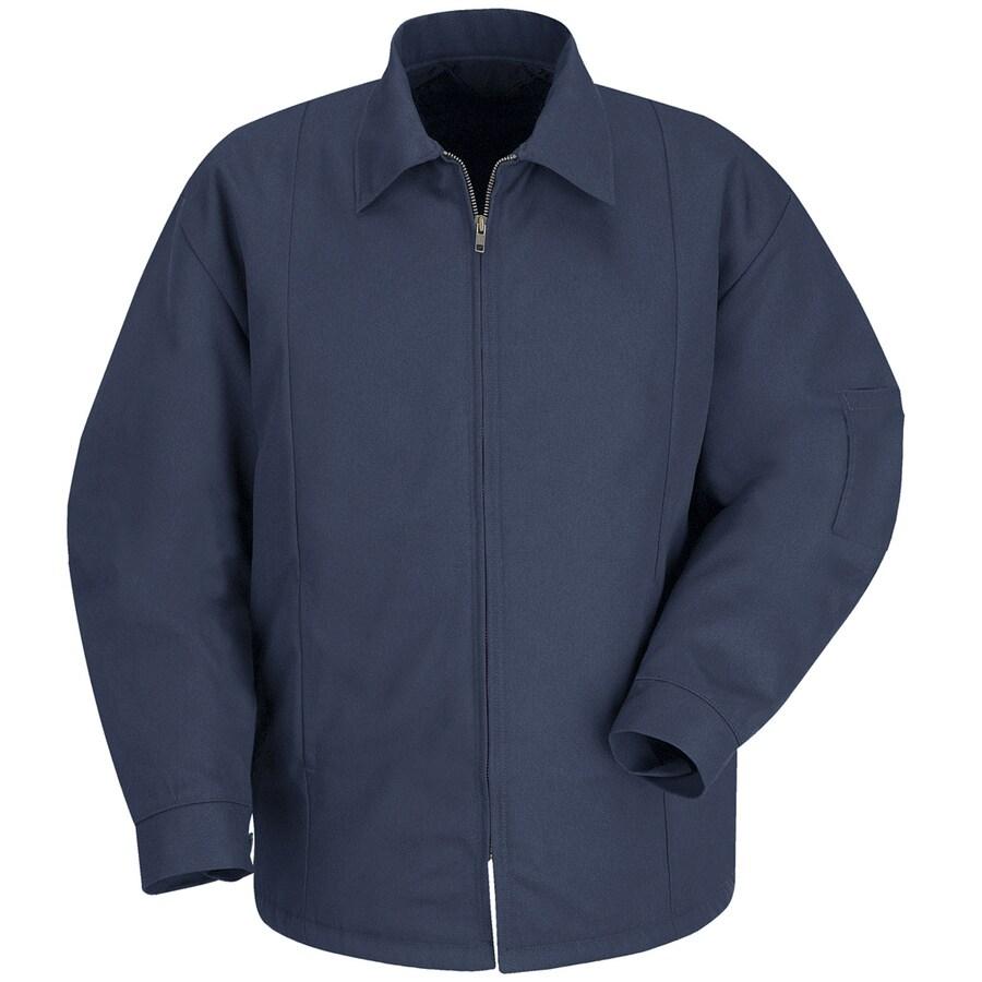 Red Kap Medium-Long Unisex Navy Twill Jackets & Coats Panel Jacket