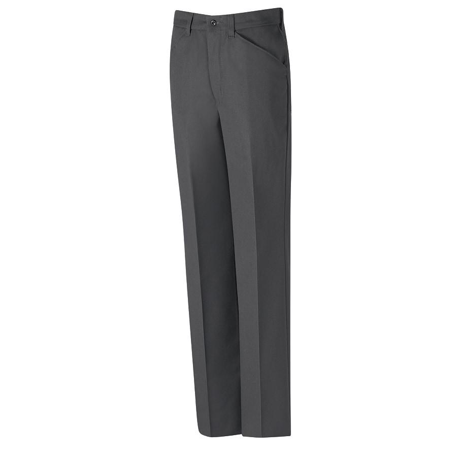 Red Kap Men's 36x34 Charcoal Twill Work Pants