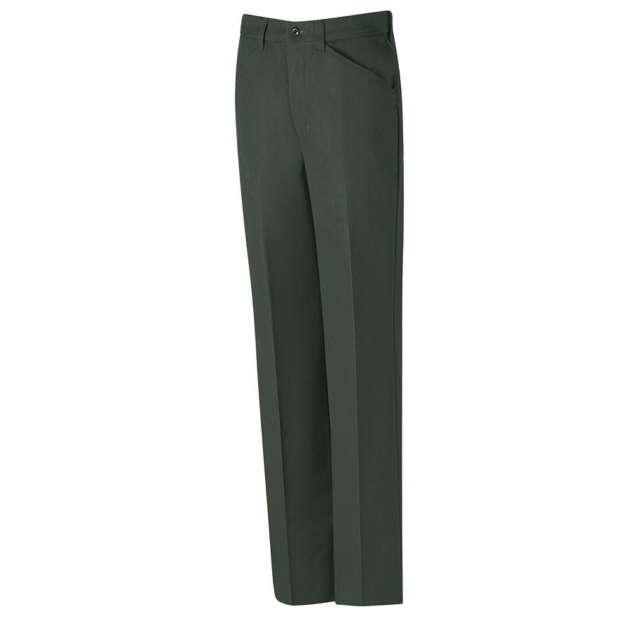 Red Kap Men's 34x34 Spruce Green Twill Work Pants