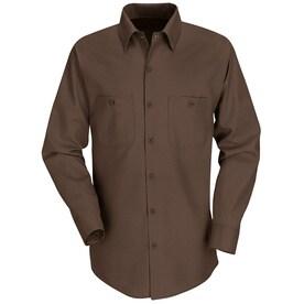 Red Kap Men's Long Sleeve Industrial Work Shirt