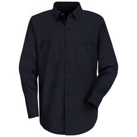 Mens Long Sleeve Durastripe Work Shirt
