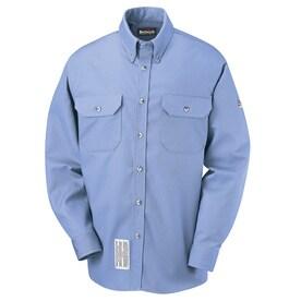 VF IMAGEWEAR SLU2LB RG M FR Long Sleeve Shirt,Light Blue,M