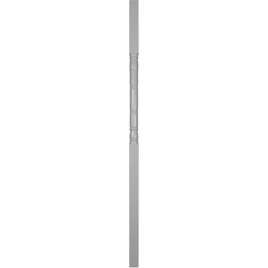 Turncraft (Common: 5-in x 5-in x 10-ft; Actual: 5-in x 4.25-in x 10-ft) Primed White Wood Fir Deck Post