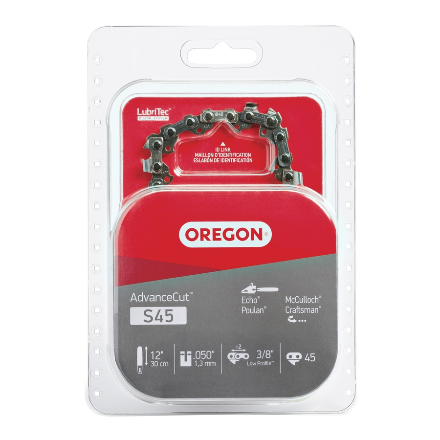 Shop chainsaw chains at lowes oregon 12 in replacement saw chain greentooth Image collections