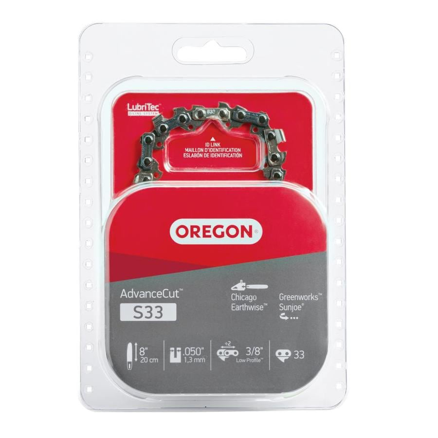 Shop chainsaw chains at lowes oregon 8 in replacement saw chain greentooth Image collections