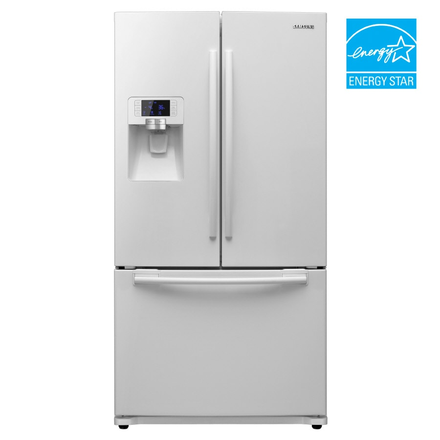 Samsung 29 Cu Ft French Door Refrigerator Color White Energy Star