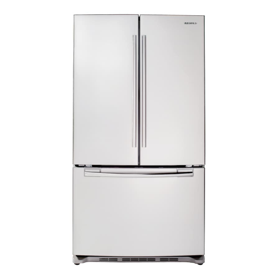 Samsung 25.8-cu ft French Door Refrigerator with Ice Maker (White) ENERGY STAR