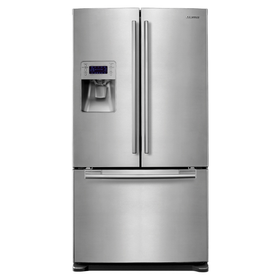 Samsung 25.7-cu ft French Door Refrigerator with Dual Ice Maker (Stainless Steel) ENERGY STAR