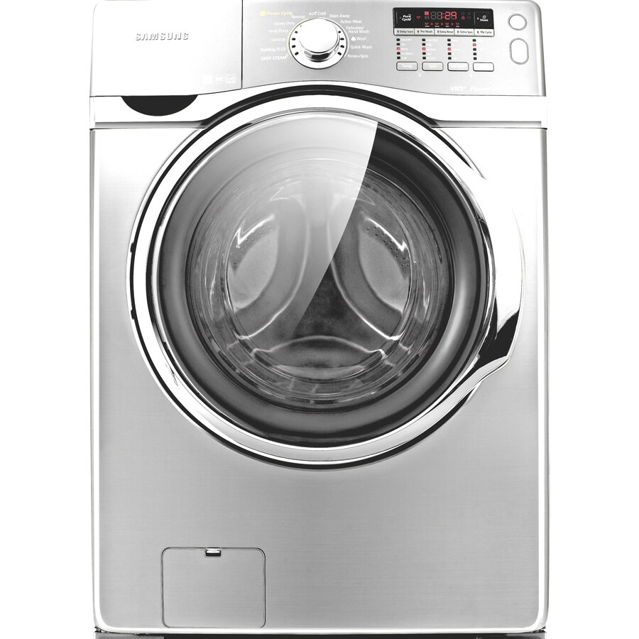samsung 39cu ft stackable frontload washer white