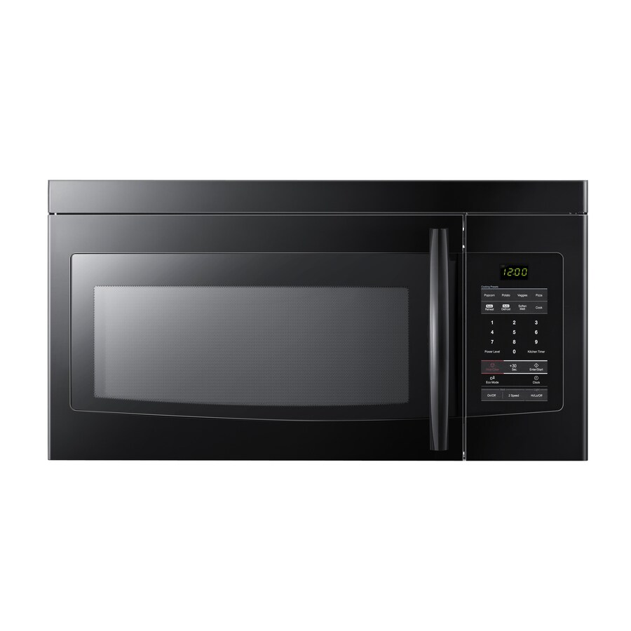 Samsung 1.6 cu ft Over-the-Range Microwave (Black)