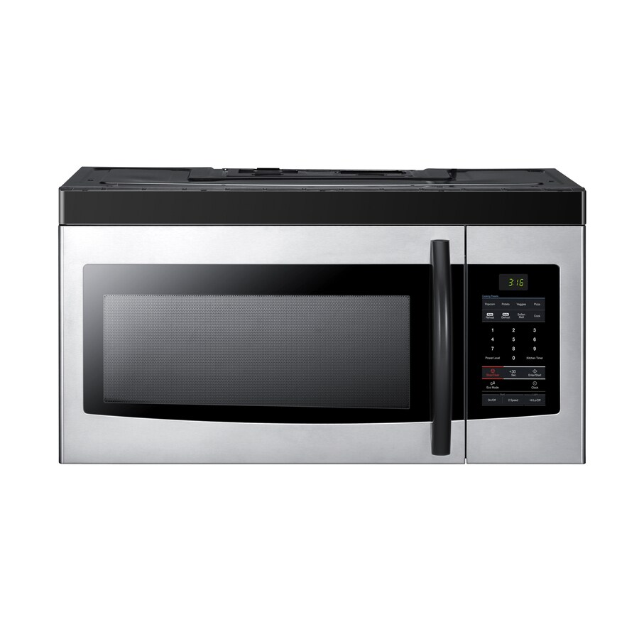Samsung 1.6 cu ft Over-the-Range Microwave (Platinum)