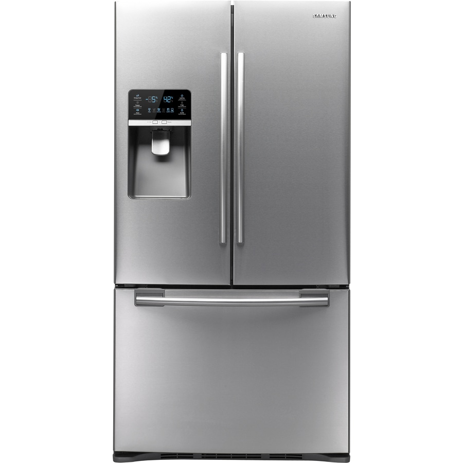 Samsung 28.5-cu ft French Door Refrigerator with Ice Maker (Platinum) ENERGY STAR