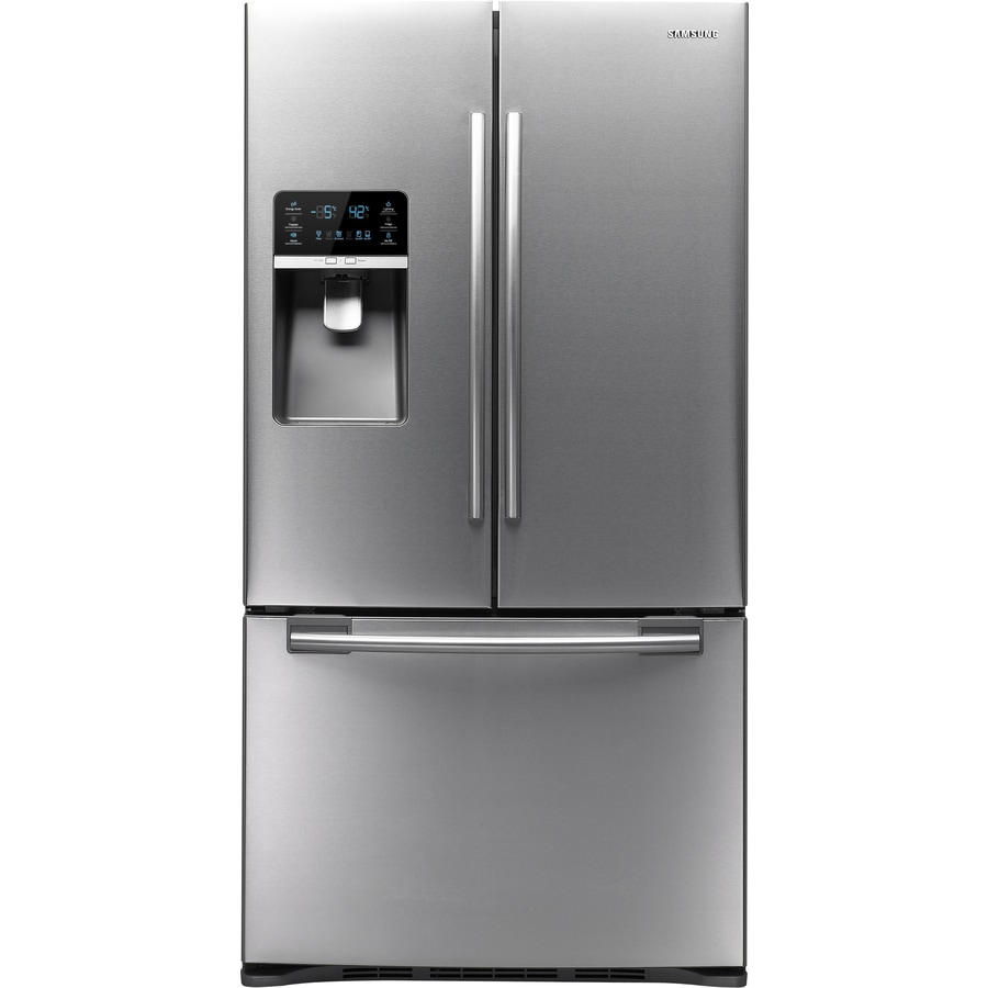 Samsung 28.5-cu ft French Door Refrigerator with Dual Ice Maker (Stainless Steel) ENERGY STAR