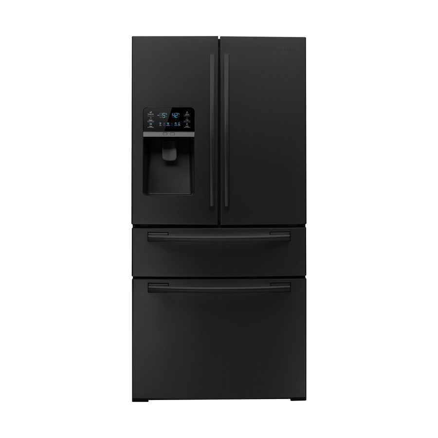 Shop Samsung 26 Cu Ft French Door Refrigerator With Single Ice Maker