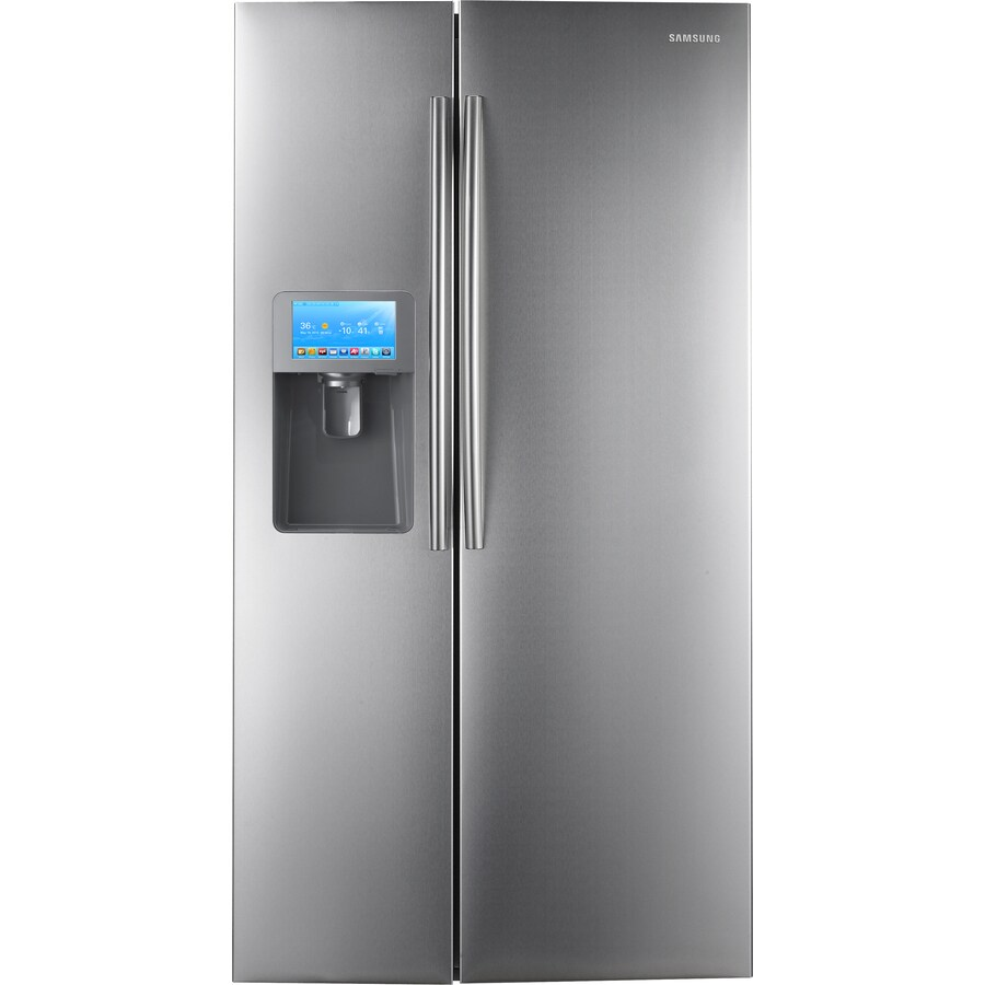 Samsung 30 Cu Ft Side By Side Refrigerator With Ice Maker Stainless