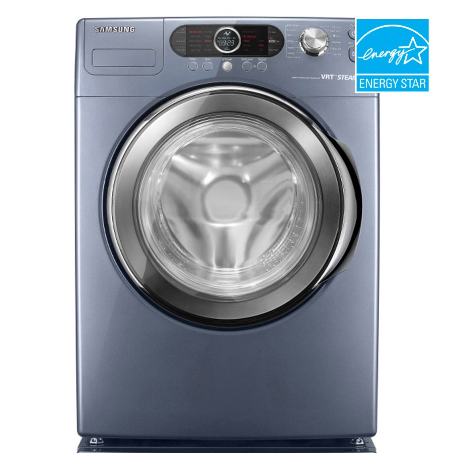 samsung 40 cu ft front load washer color breakwater blue energy