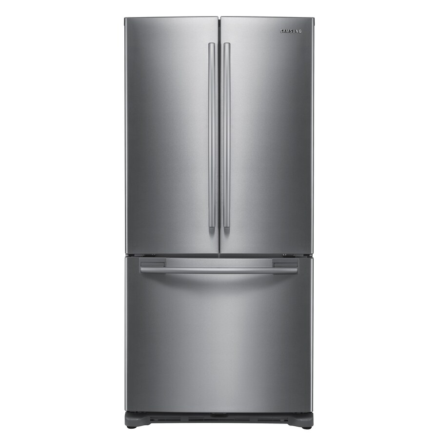 Samsung 19.7-cu ft French Door Refrigerator with Ice Maker (Platinum) ENERGY STAR