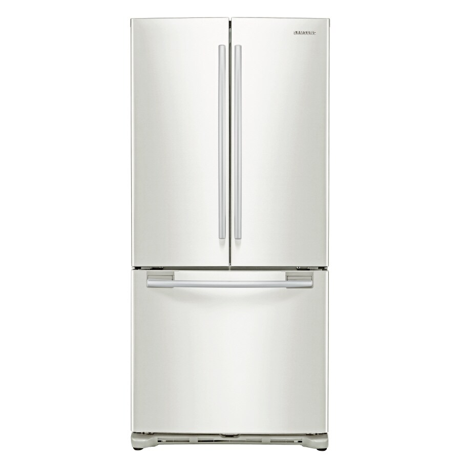 Samsung 19.7-cu ft 5-Door French Door Refrigerator with Ice Maker (White)
