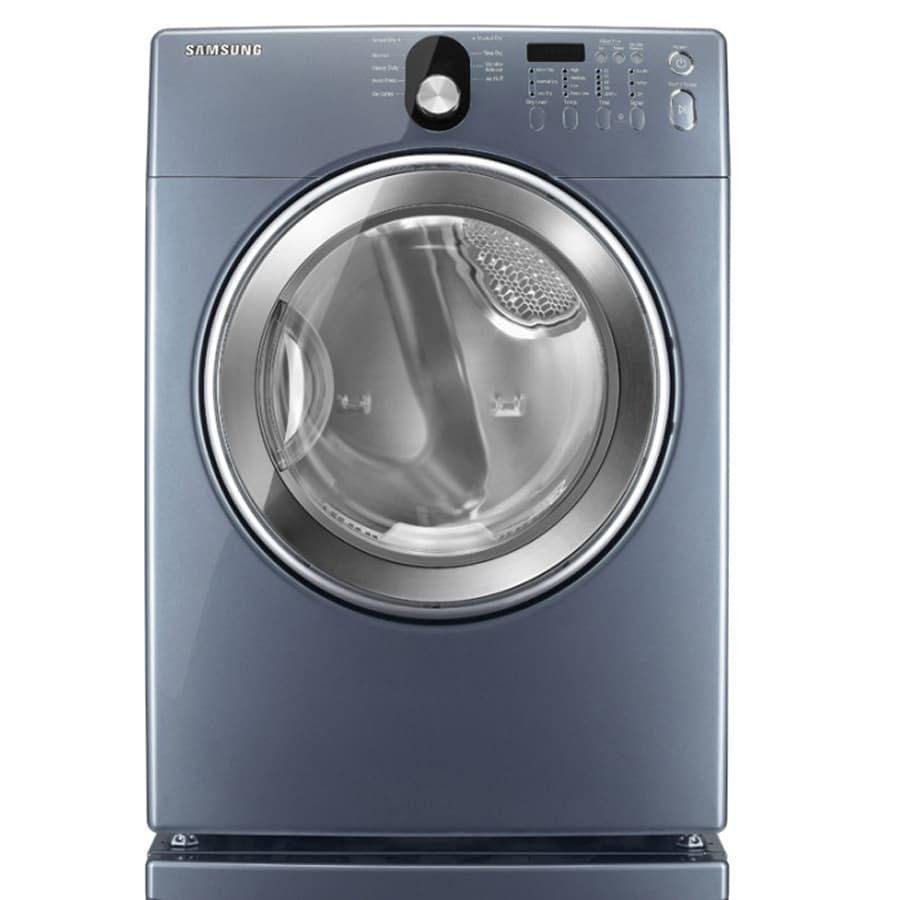 ft electric dryer blue