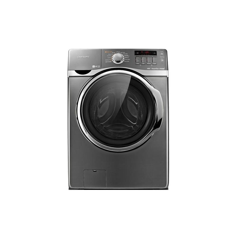 Samsung 3.9-cu ft High-Efficiency Stackable Front-Load Washer (Platinum)