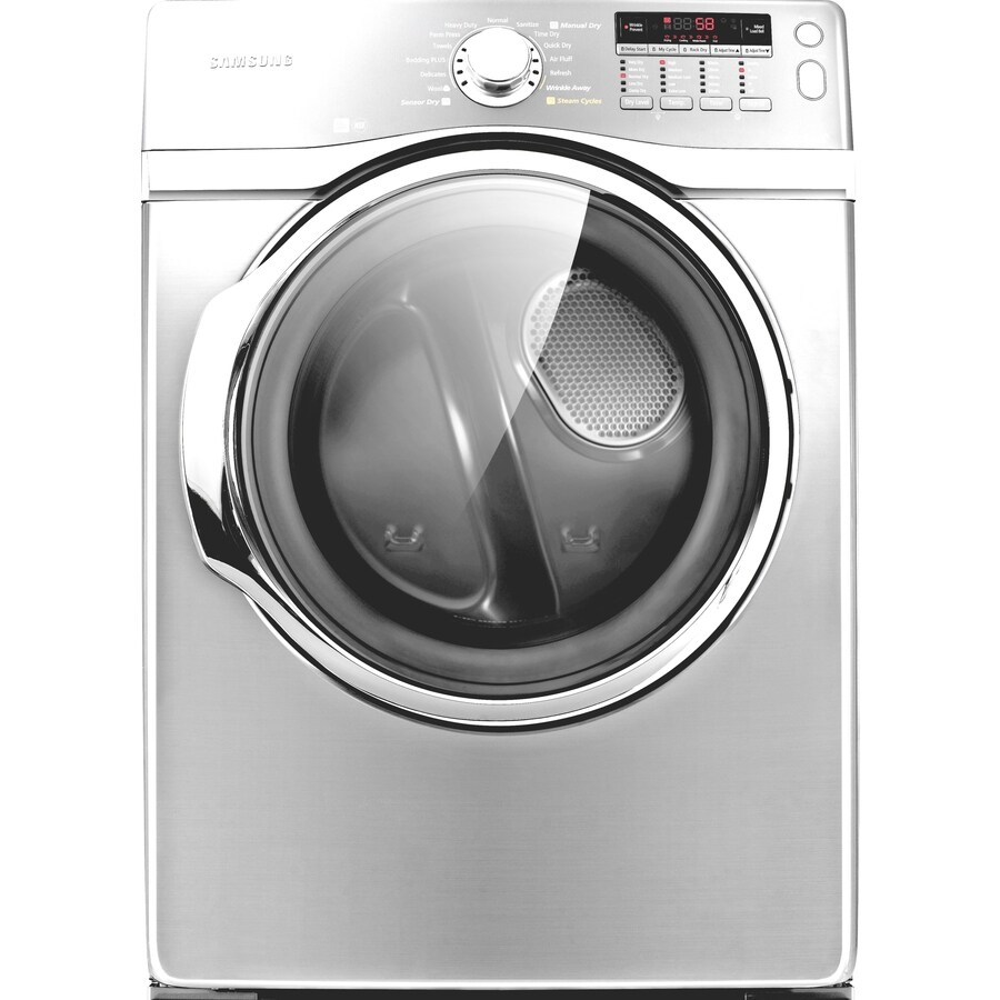 samsung 74cu ft stackable electric dryer white