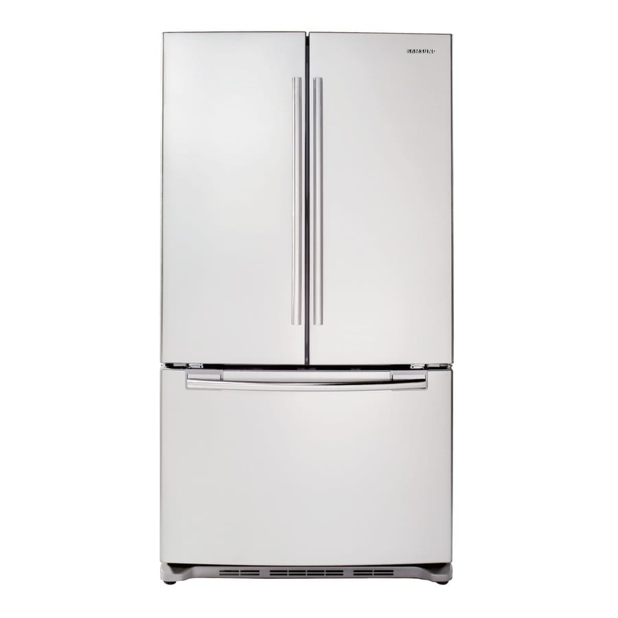 Samsung 29 Cu Ft French Door Refrigerator With Single Ice Maker White Energy