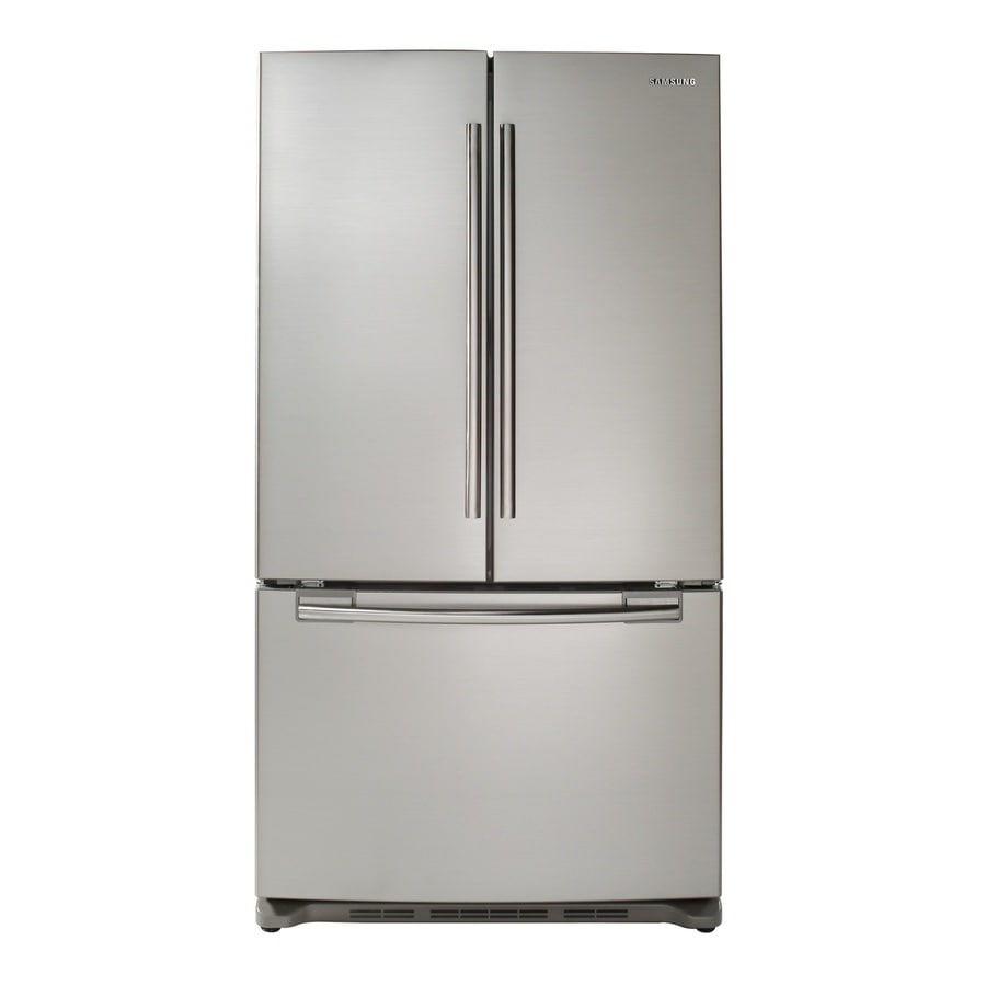 Samsung 29-cu ft French Door Refrigerator with Single Ice Maker (Stainless Steel) ENERGY STAR