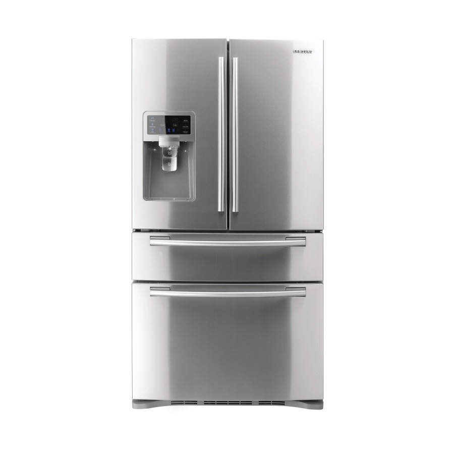 Samsung 28-cu ft 4-Door French Door Refrigerator with Ice Maker (Stainless Steel) ENERGY STAR