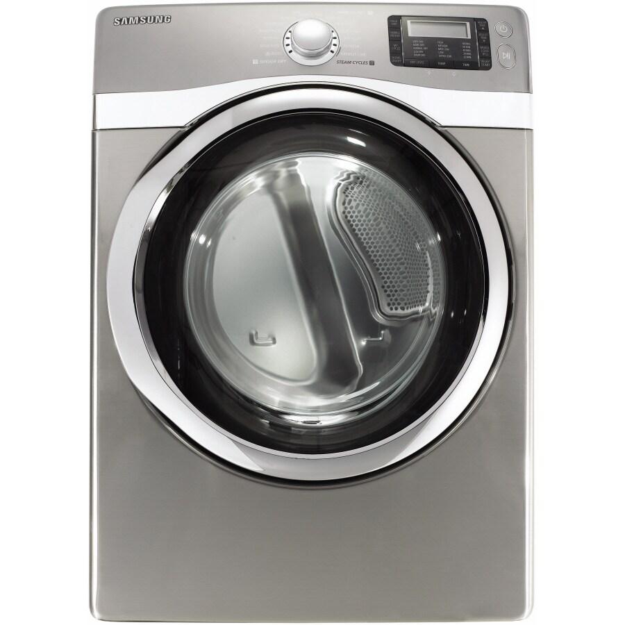 Samsunf Platinum: Shop Samsung 7.5 Cu. Ft. Stackable Electric Dryer