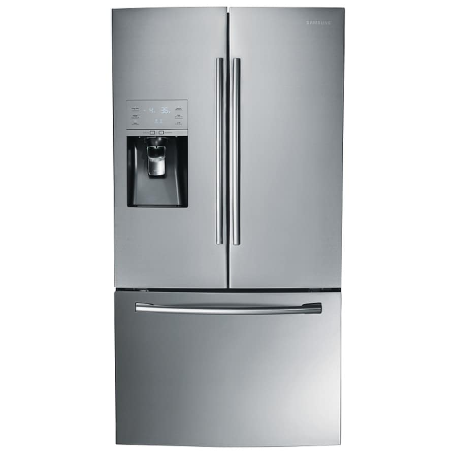 Samsung 30.5-cu ft French Door Refrigerator with Ice Maker (Stainless Steel) ENERGY STAR