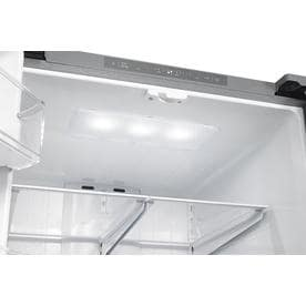 Shop Samsung 221 21 8 Cu Ft French Door Refrigerator With