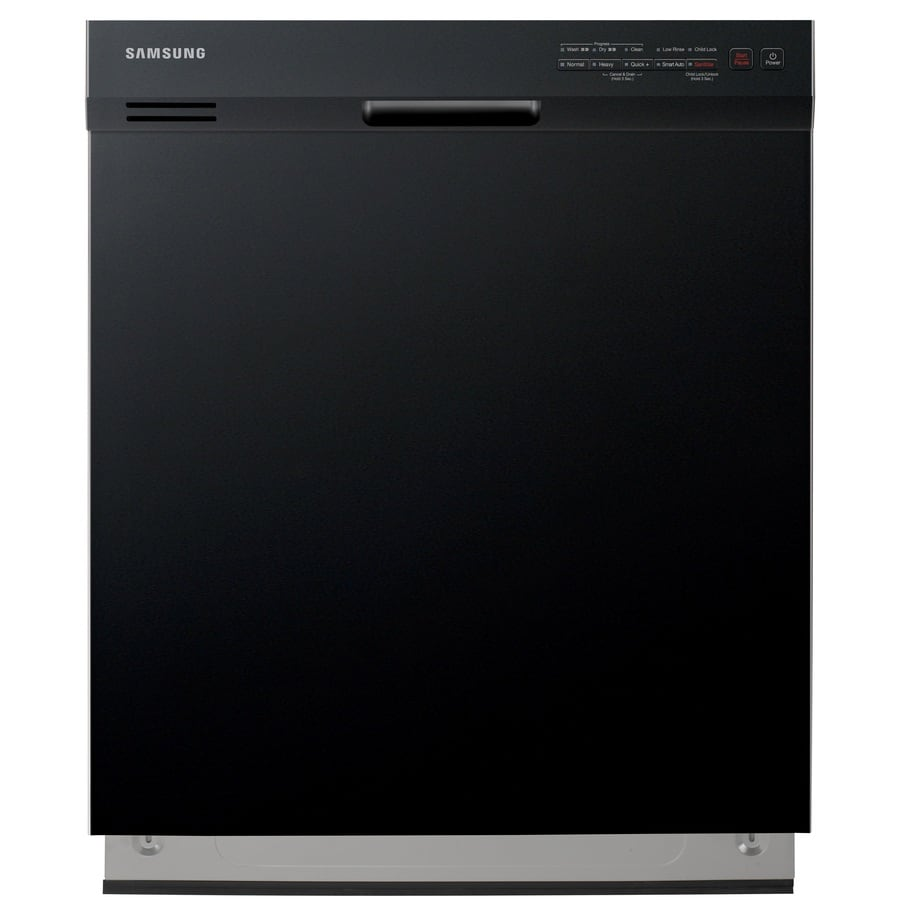 Samsung 50-Decibel Built-in Dishwasher with Hard Food Disposer (Black) (Common: 24-in; Actual: 23.875-in) ENERGY STAR