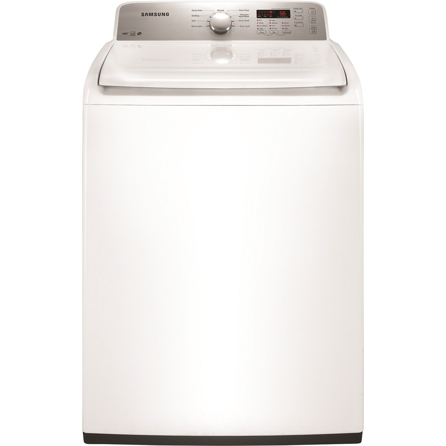 Samsung 4.0-cu ft High-Efficiency Top-Load Washer (White)