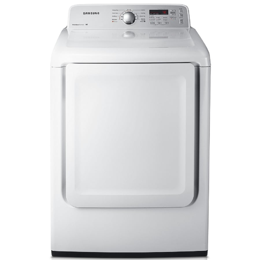 Samsung 7.2-cu ft Gas Dryer (White)