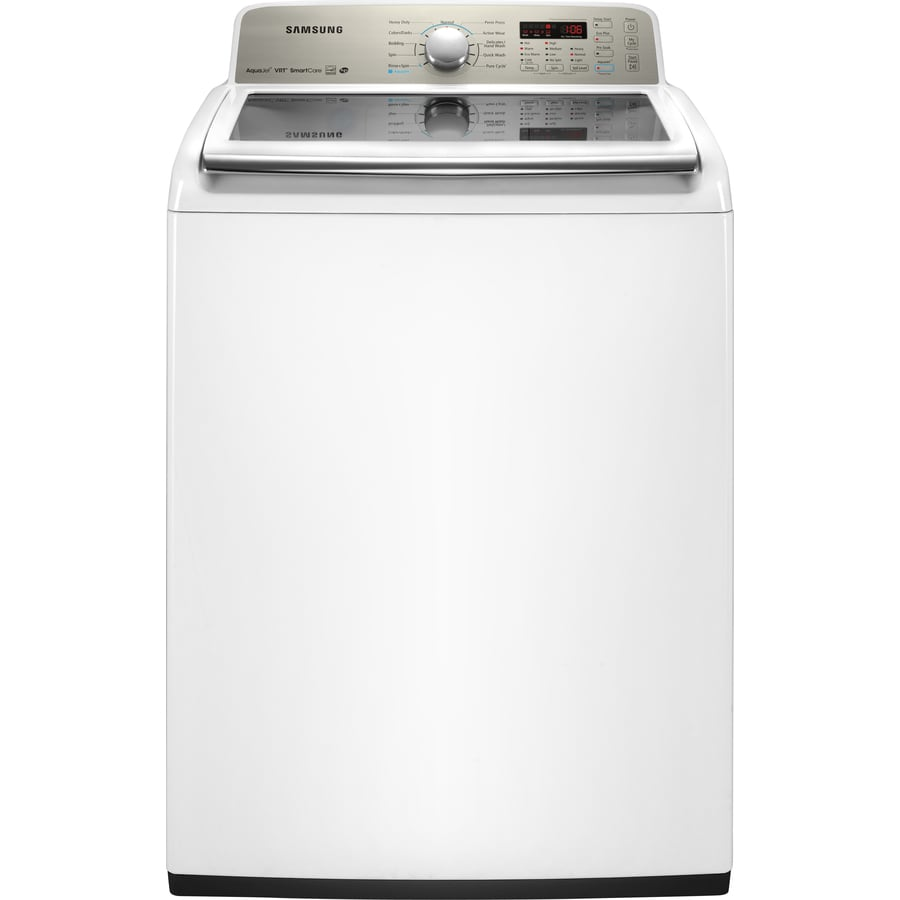 Samsung 4.5-cu ft High-Efficiency Top-Load Washer (White)