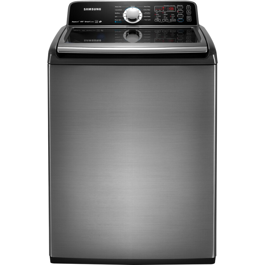 Samsung 4.5-cu ft High-Efficiency Top-Load Washer (Platinum) ENERGY STAR