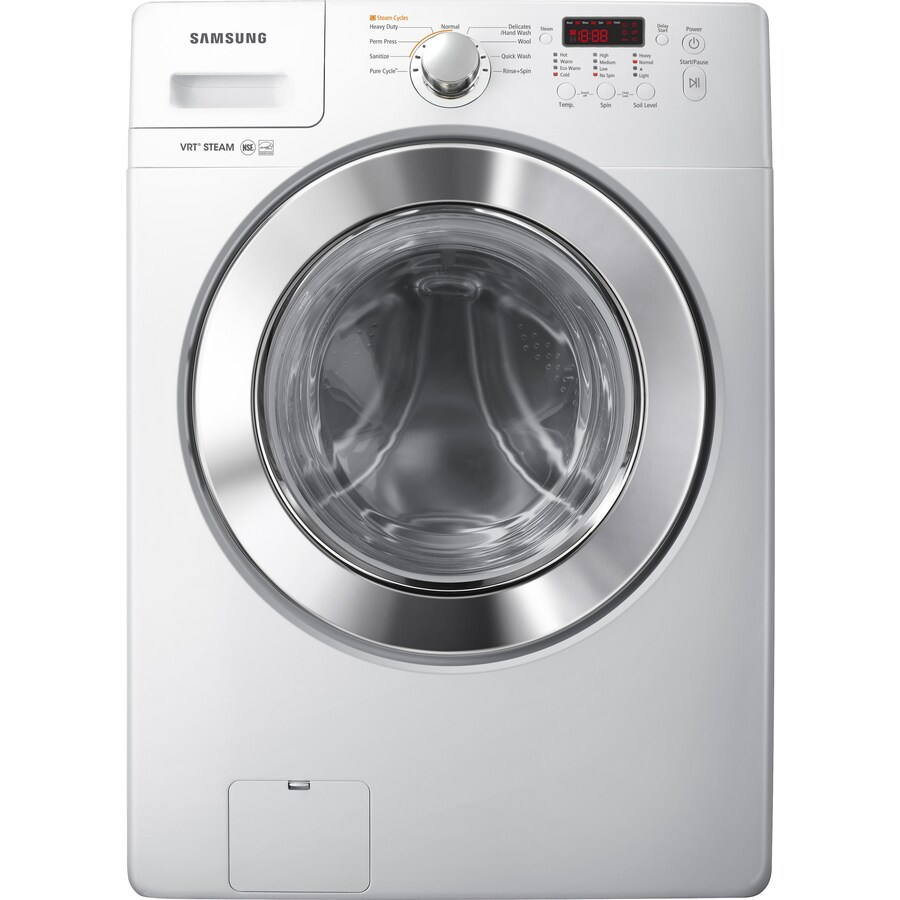 Samsung 3.6-cu ft High-Efficiency Front-Load Washer (White) ENERGY STAR