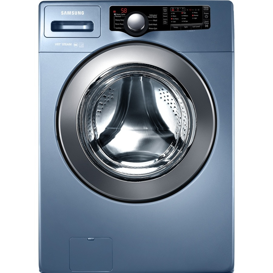 Samsung 3 Series 3.6-cu ft High-Efficiency Stackable Front-Load Washer (Blue)