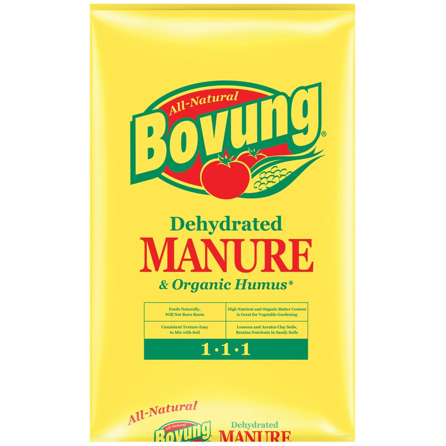 Bovung Dehydrated 25-lb Cow Manure