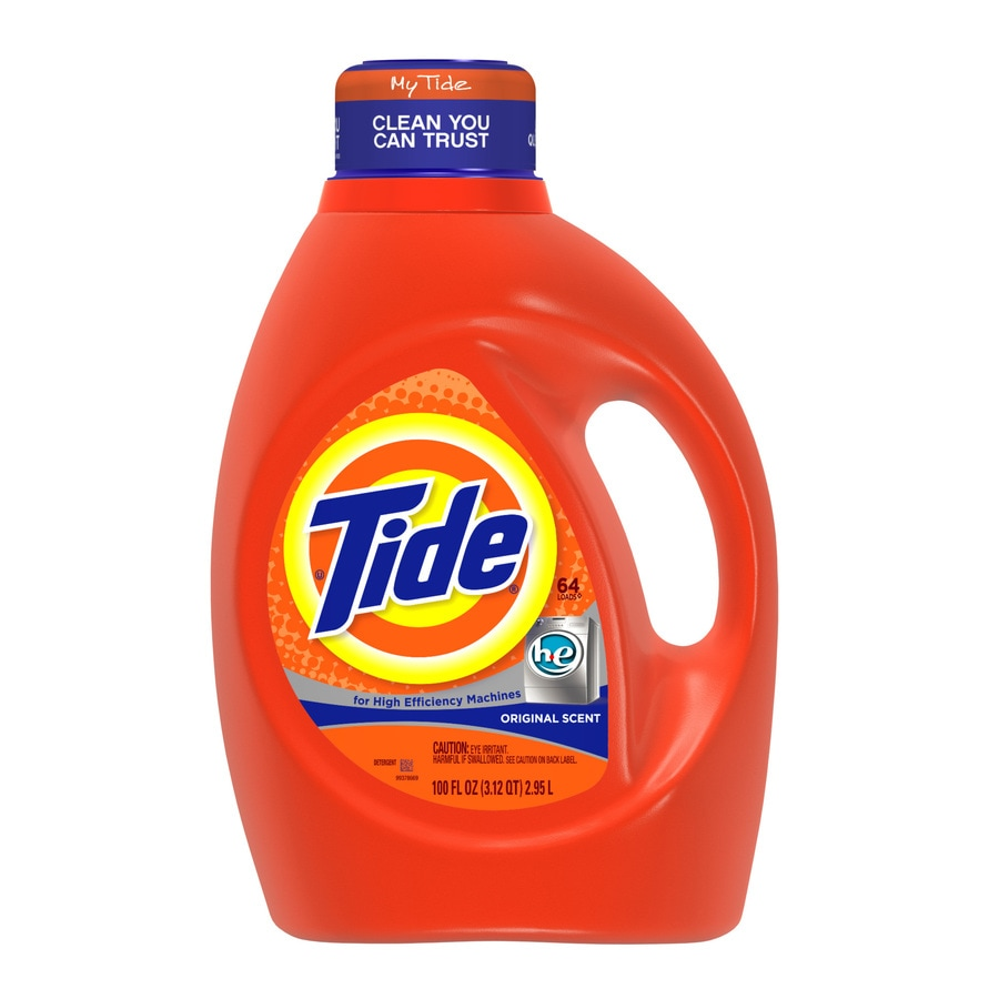 Tide Liquid 100-fl oz Original HE Laundry Detergent