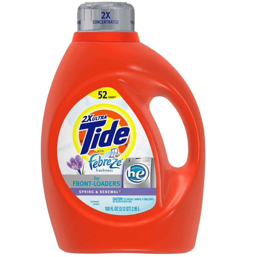 Tide Liquid 100-oz Spring and Renewal HE Laundry Detergent