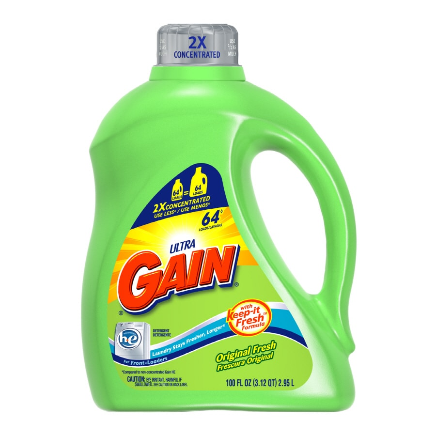 Gain Liquid 100-oz Original Fresh HE Laundry Detergent